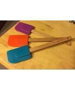 Nordic Ware Silicone & Wood Spatulas (3) - $9.49