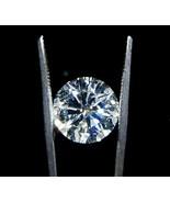 Gorgeous 3 ct round cut loose diamond F VS1 loo... - $12,474.00