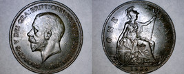 1936 One Penny World Coin - Great Britain - UK - England - $13.99