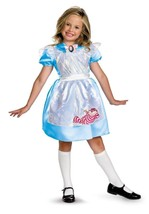 "Girl's ""Alice"" Disney Classic Alice in Wonderland Costume - £17.20 GBP"
