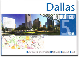 Dallas Popout Map - $8.34