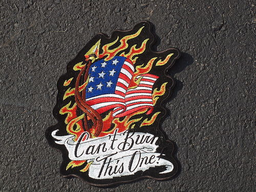 CAN'T BURN THIS ONE! PATCH