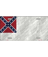 Second  Confederate Flag  Tag Sign License Plate - $18.99