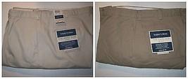 Mens Pants Chelsea Khaki Relaxed Fit 5 pockets Stone Khaki 33x32 38x30  ... - $17.39