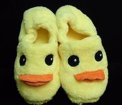 Cutie Rubber Duck Plush Rave Shoes  Slippers Warm Soft Adorable 26cm - €11,39 EUR