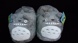 "Totoro Ghibli Cosplay Adult Plush Rave Shoes Slippers 10"" T2 - totoro - $10.99"