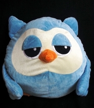 New and Cute Line App Light Blue Fighting Birzzle Pandora Plushy Toy 41c... - €11,42 EUR