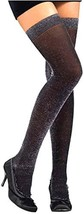 Rubie's Costume Co. Black/Sl Glitter Thigh High Costume - $142,52 MXN