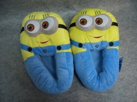 "Despicable Me 2 Minions Cosplay Adult Soft Plush Rave Shoes Slippers 11""... - €8,15 EUR"