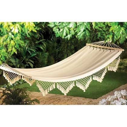 Primary image for Cape Cod Canvas Hammock Max Weight  264 lbs