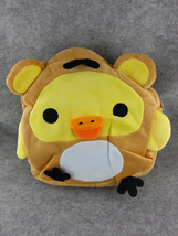 Rilakkuma Bear Chicken Cute Kawaii Anime Animal Furry Plush HandBag Hand... - €12,26 EUR
