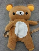 Cute Rilakkuma Bears Kawaii Soft Furry Plush HandBag Backpack Bag School... - €14,50 EUR