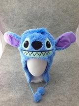 Lilo and Stitch Cute Kawaii Anime Hat Rave Beanie Cap Furry Plush Cospla... - €7,90 EUR
