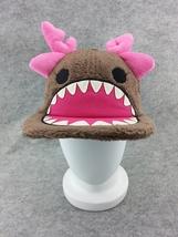Cute Winter Warm Hat Beanie Cap Soft Plush Cool Buckhorn Brown Cosplay C... - €8,86 EUR