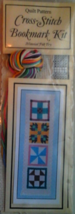 Historical Folk Toys #4202 Quilt Pattern Cross-Stitch Bookmark Kit - $9.99