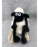 New Shaun The Sheep Cute Kawaii Furry Plush Baby Toddler Kid School Back... - $7.99