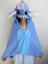Cute Kawaii Lilo&Stitch Soft Comfortable plush Costume Cloak Shawl Cape ... - €12,41 EUR