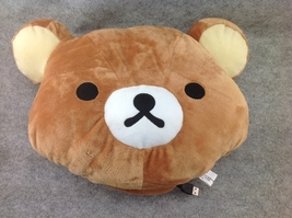 USB Brown Rilakkuma Bear Cosplay Furry Soft Plush Cushion Warming Hand C... - €9,66 EUR
