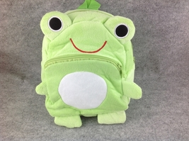 Cute ZOO Animal Soft Plush Frog Children/Baby Toddler Kid School Backpac... - €7,90 EUR