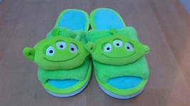 "Toy Story Alien Cosplay Adult Women Plush Rave Shoes Slippers 10"" - Yell... - €7,90 EUR"