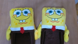 Nickelodeon Spongebob Squarepants Cosplay Adult Plush Rave Shoes Slipper... - €7,88 EUR