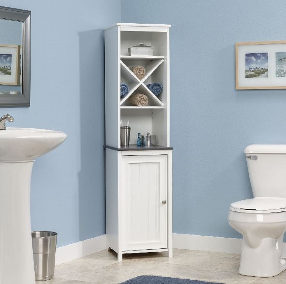 Http Www Bonanza Com Listings Narrow Bathroom Storage Cabinet Towel Linen Tower Bath Bedroom Cupboard Shelf 315567610