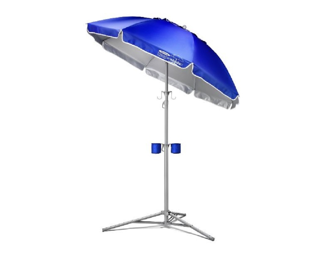 Portable Sun Shade Beach Umbrella Outdoor Sports Cover Camp Picnic Sand Tripod