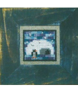 Little Igloo penguin cross stitch chart Bent Creek  - $6.75