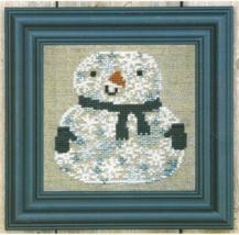 Snowman of Snowflakes Kit cross stitch kit Bent Creek  - $19.80
