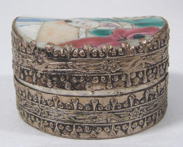 ANTIQUE CHINESE PILL BOX
