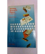Writing Research Papers, A Complete Guide 1990 James D Lester - $3.00