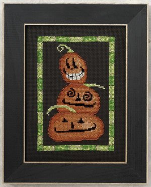 Primary image for Moonlight Madness: Triple Jack beaded cross stitch kit Debbie Mumm Mill Hill