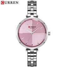 CURREN Women Watches Top Brand Luxury Stainless Steel Strap Watch Ladies Analog  - $33.41