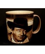 """John Wayne"""" A Man's Got To Do"""" 12 oz Ceramic Mug, Brown  - $7.99"""