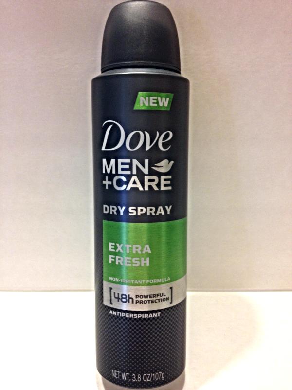 Dove Men+Care Dry Spray Antiperspirant Extra Fresh Non-Irritant Formula 3.8 OZ - $7.00