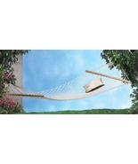 Two-Person Hammock  White Maximum Seating Weight 440 lbs  - $29.19