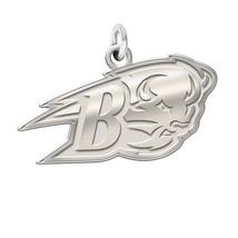 "Bucknell Bisons Sterling Silver Natural Finish Logo Charm 3/4"" - $39.00"