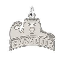 "Baylor Bears Sterling Silver Natural Finish Logo Charm 3/4"" - $39.00"