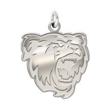 "Bridgewater State Bears Sterling Silver Natural Finish Logo Charm 3/4"" - $39.00"