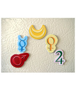 Magnet - Sailormoon Inner Symbols - $1.00