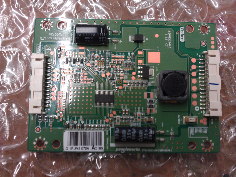 6917L-0072A LED Address Board From LG 32LV3400-UA LCD TV