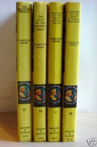 Nancy Drew Mystery Series #15-18 Carolyn Keene collect