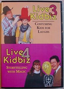 LIVE KIDBIZ 3 & 4 David Ginn clown magic comedy DVD
