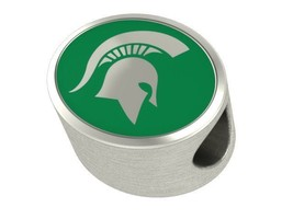 Michigan State Spartans Collegiate Bead Fits Most Beaded Charm Bracelets - $59.00