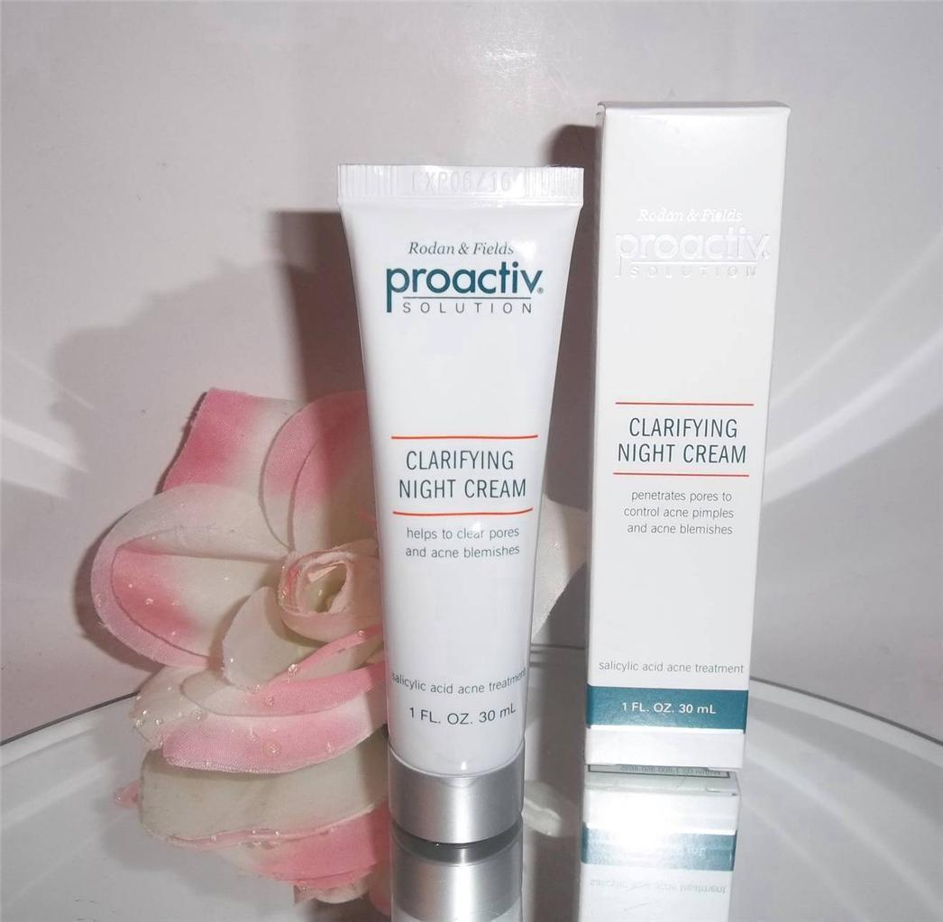 proactiv solution acne clarifying night cream w retinol 1oz proactive acne blemish control. Black Bedroom Furniture Sets. Home Design Ideas
