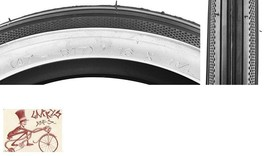 "SUNLITE S-7  16"" x 1-3/4"" BLACK/WHITEWALL BICYCLE TIRE - $18.80"