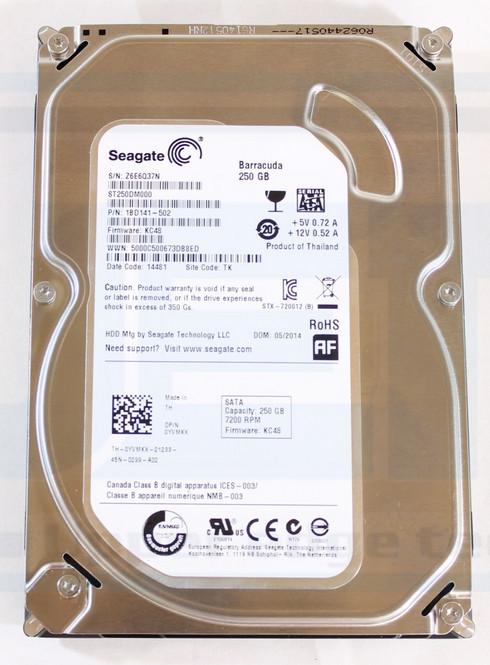 "Seagate Barracuda 250GB SATA 7.2K RPM 3.5/"" Slim HD Slim DVR Desktop  warranty"