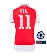 Arsenal Home #11 OZIL UEFA CHAMPION LEAGUE 2015-16  Soccer Jersey Football Shirt - $31.95