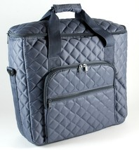 Hemline Embroidery Unit & Project Notions Quilted Padded Bag Gray - $40.00