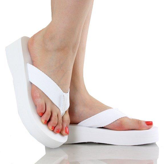 Soda Aiken Women's Foam Platform Thong